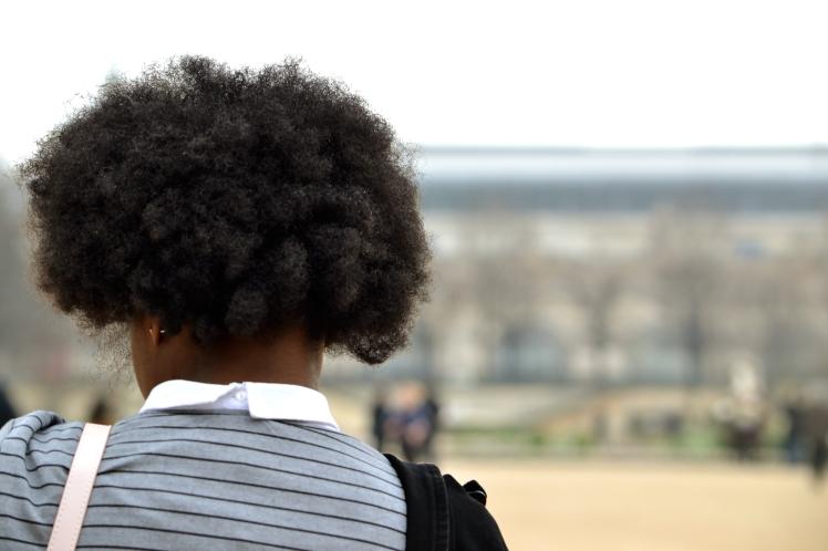 """Mon Afro """"coiffé""""... d'après moi"""